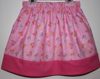 Clearance  Pink Little Girls Skirt  Size 24 month to 7