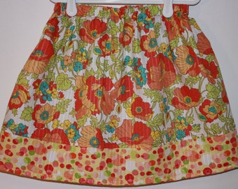 Clearance  Skirt Tutti Frutti Poly/Cotton blend   Size 2 - 7