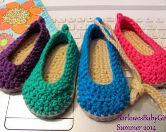 NEW Pattern Crochet Espadrilles - Instant Download
