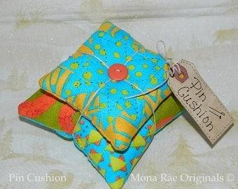 Pin Cushion ~ Original Design Pin Keeper ~ Mothers Day Gift