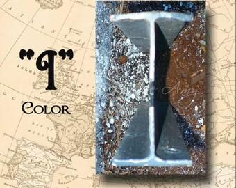 Letter I Alphabet Photography Color 4 x 6 Photo Letter Unframed