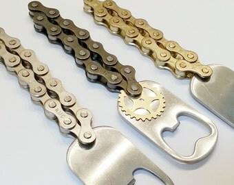 Bike Chain Bottle Opener with Gear Charm ACBOTT01