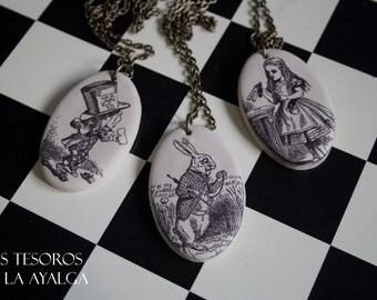 personalized  Wonderland necklace