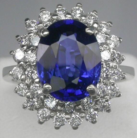 Ravishing Large Kashmir Blue Natural Sapphire by ButterflyHall