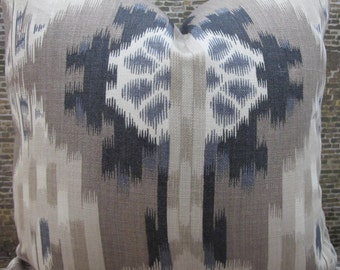 F. Schumacher Kiribati Linen No.2 -  16 x 16, 18 x 18  Designer Pillow Cover