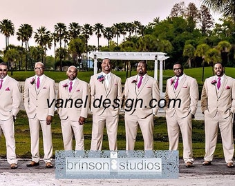 Mens Tie Choose Match color with your Bridesmaids Dresses Skinny Necktie Custom tie