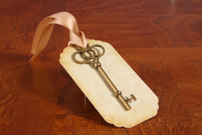 Diy key tags