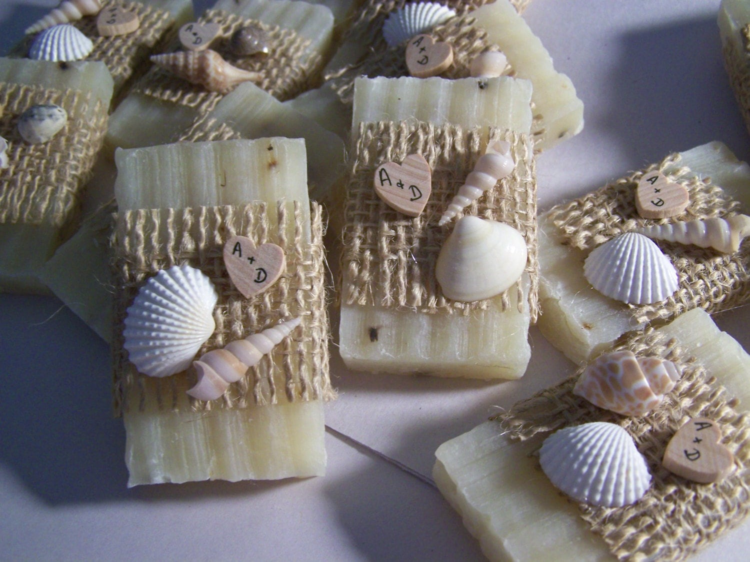 Gift From The Sea Wedding Reading: Beach Wedding Favors 30 Bridal Shower Favors Soaps Seashells