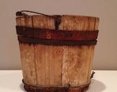 Handmade Wooden Bucket
