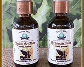 1 oz. Reclaim the Mane 100% Natural Moringa Hair Growth Elixer. Infused w/ Herbs, Superfruits & Superfoods. Concentrated, Organic, Vegan.