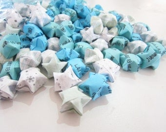 100 Frozen Let it Go Origami Stars