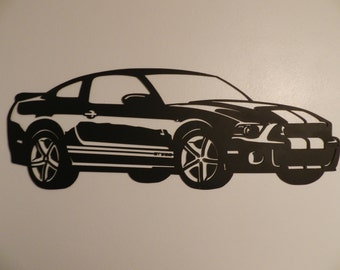 Ford Shelby GT Metal Wall Art