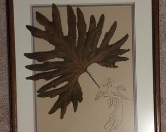 Bird Leaf Art
