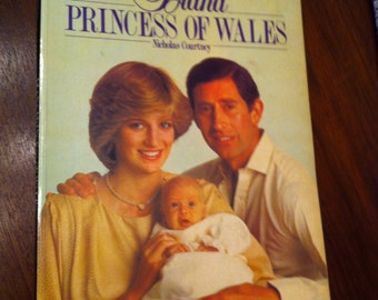 Diana Princess of Wales Nicholas Courtney Collectible Softcover Book Royal Family 1982