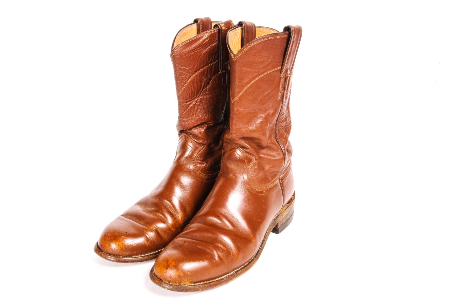 justin brown roper boots s size 6 by