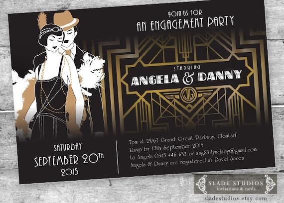 1920S Themed Birthday Invitations was beautiful invitations ideas