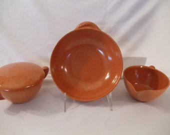 Vintage Branchell Melmac Cream,Sugar,Bowl Set