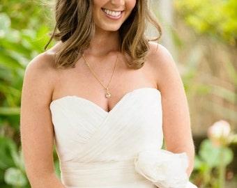 Bridal Jewelry Set, Crystal Gold Rhinestone, Bridesmaids Gifts, Wedding Jewelry Set, Bridesmaids Jewelry Set