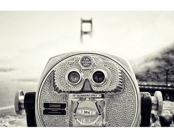 San Francisco photography. Black and white. fog. Golden Gate Bridge. Viewfinder. Travel photography. urban photography. California