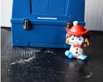 Vintage Blue Plastic Aladdin Lunchbox