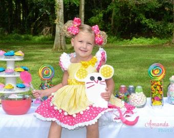 Lalaloopsy Cookie Sugar Crumbs inspired girls dress