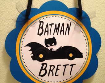 Batman Door Sign