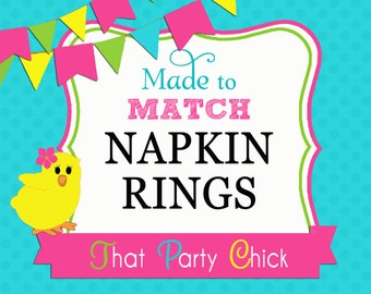 Made to Match - Napkin Rings