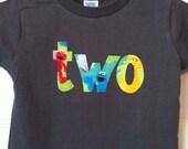 Sesame Street Birthday Shirt Two 2nd Second