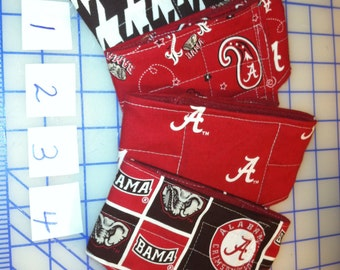 All Sizes-  waterproof / leakproof Male Dog Belly Band  BASIC or COMFORT FIT-- Alabama Roll Tide football basketball