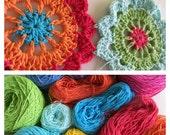 Multicolour flower Table Runner