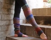Extra Long Yoga Pilates Dance Socks Leg Warmers