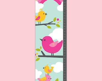 Personalized Birdie Buddies Growth Chart - Girl