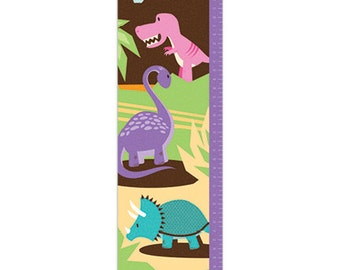 Personalized Growth Chart - Dinomite Dinosaur