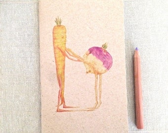 Carrot & Rutabaga  NOTEBOOK