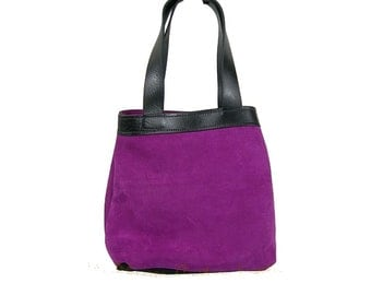 Leather Suede Tote/Bag/Purse