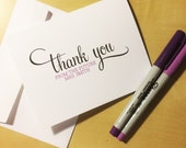 Bridal Shower Future Mrs. Thank You Cards