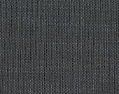 Linen Look Fabric - Durable and Attractive- Linen and Polyester Combination - Upholstery, Drapery, and Bedding Fabric - Color: Steel