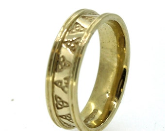 Wedding Ring Celtic Gold