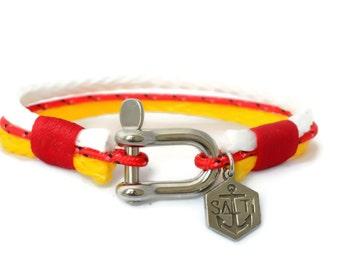 SALTI Nautical Rope Bracelet '3rd Wave' Sailor Surfer Kayaker FREE worldwide shipping (54)