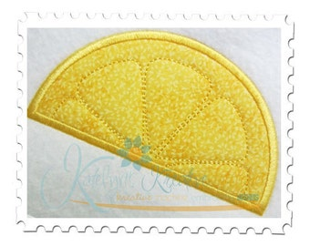 Lemon Applique Slices