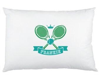 Little Tennis Player Custom Printed Children's Pillow Cases
