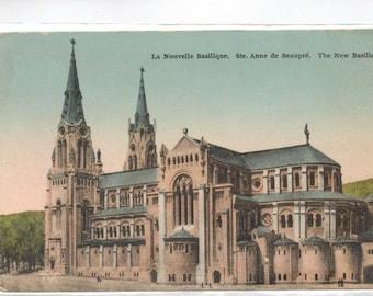 "Canada, Quebec,  Vintage Postcard, ""Ste. Anne de Beaupre, The New Basilica,""  1950s  #311-2."