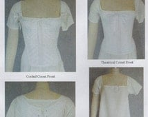 LM115 Laughing Moon #115, 1805-1840 Ladies Regency and Romantic Era Corset and Chemise Sewing Pattern