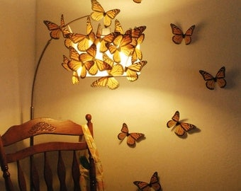 Mega Monarchs 7 inch Wingspan - Set of 20