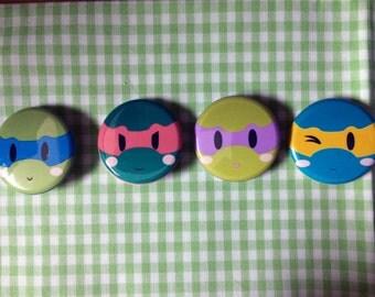 Teenage Mutant Ninja Turtles Button Set