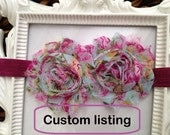 A Custom Listing for Jennifer