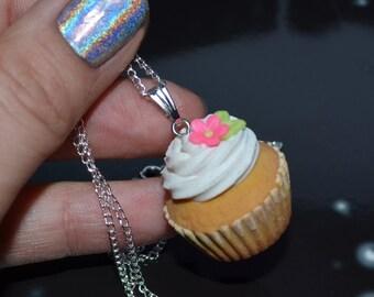 Cupcake - sweet necklace
