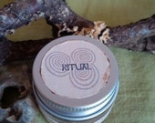 ritual hand blended incense jar