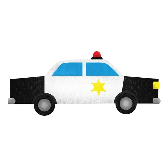 police car wall decal sticker for boys room wall mural lightning mcqueen wall stickers for boys room 3d children