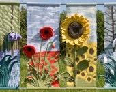 Four Seasons Flower Wall Hanging